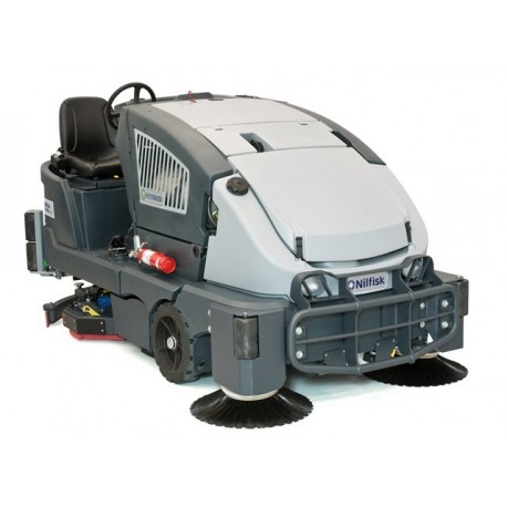 Nilfisk CS7000 – Environmentally-Friendly Hybrid Combination Floor Sweeper/Scrubber Drier