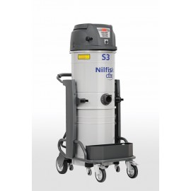 Nilfisk S3 L50 HC – Industrial Vacuum for Hazardous Dust