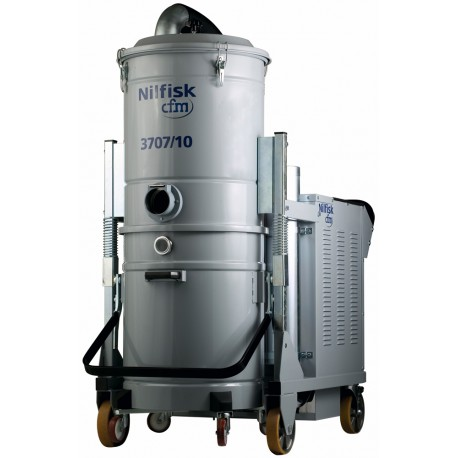 Nilfisk-CFM 3707/10 MC – Powerful 415V Heavy Duty Hazardous Dust Vac