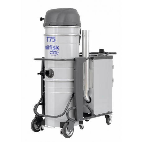 Nilfisk-CFM T75 – Heavy-Duty Industrial Three-Phase Vacuum Cleaner
