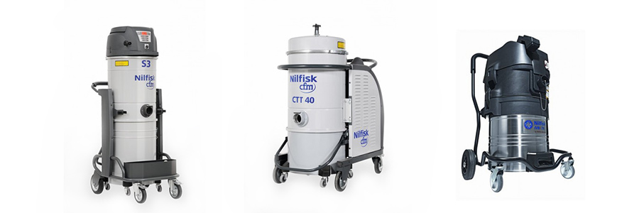 Industrial and Commercial Vacuums